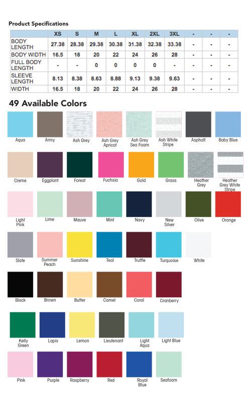 american-apparel-2001-custom-cotton-t-shirt-color-swatches