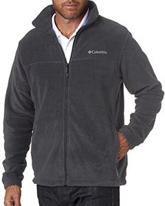 Columbia full zip fleece 3220 - charcoal heather
