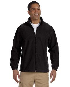 Harriton full zip fleece m990 - black