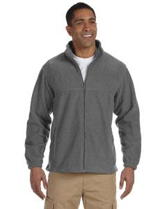 Harriton full zip fleece m990 - charcoal