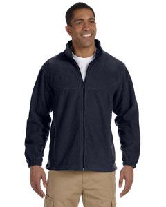 Harriton full zip fleece m990 - navy