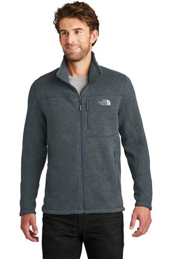 The North Face full zip fleece - urban navy heather